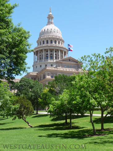 Capitol Grounds, Austin, Texas